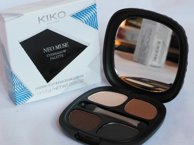 Kiko Milano Neo Muse Eye shadow Palette Mahogany Silhouette Shade