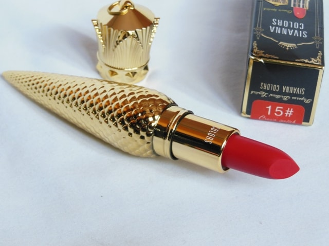 Sivanna Colors Gold Matte Lipstick # 15