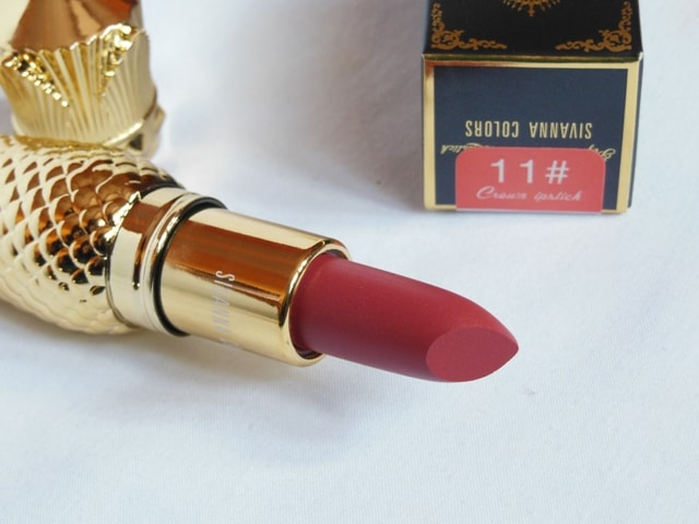 Sivanna Colors Gold Matte Lipstick No. # 11 Shade