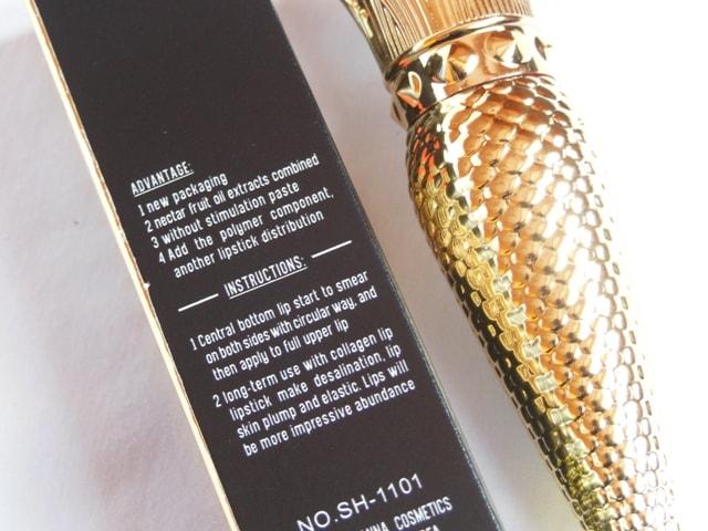 Sivanna Gold Matte Lipstick Benefits