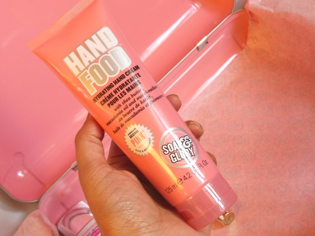 Soap & Glory Gift Box Contents - Soap & Glory Hand Food Original Pink Hand Cream