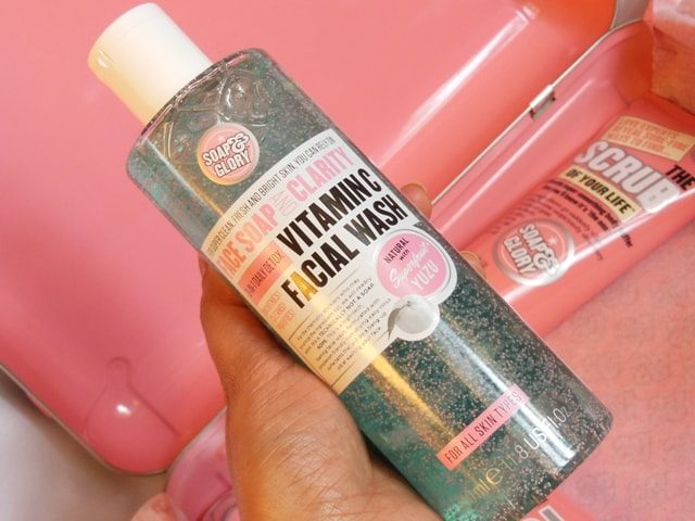 Soap & Glory Gift Box Contents - Soap & Glory Vitamin C facial Wash
