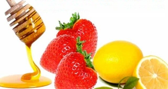 Best Home remedies to Treat Acne - Strawberry+Lemon+Honey-for-Acne-Home-Remedy