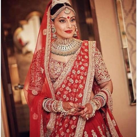 Best Places to Buy Bridal Lehenga in Delhi - Hauz Khaas bipasha-karan-wedding