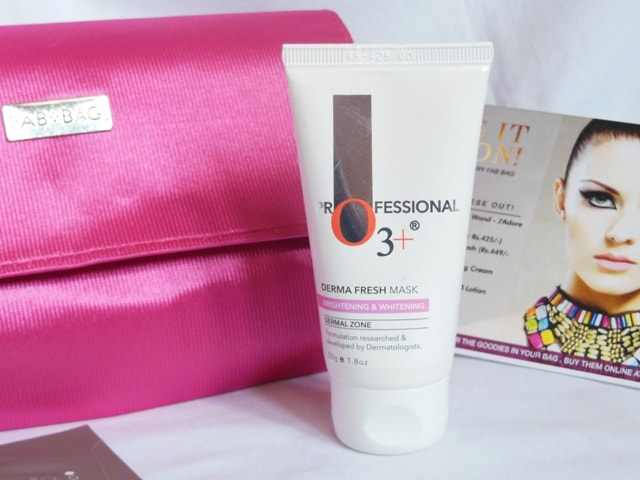 January fab Bag 2017 Products - Professional O3+ Derma face Mask