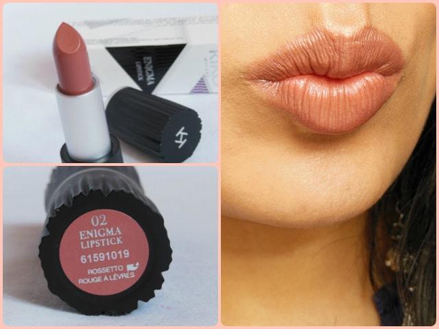 Kiko Milano Enigma Lipstick 02 Lip Look