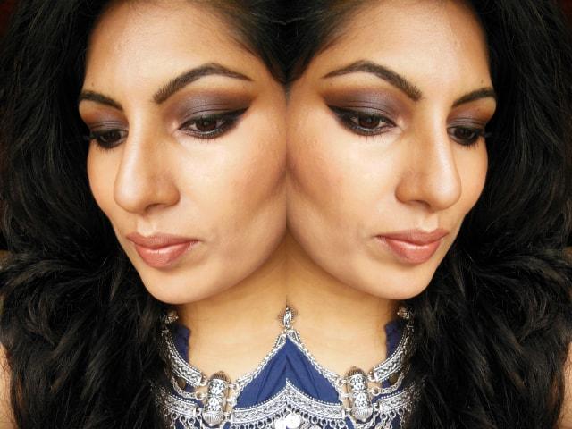Kiko Milano Eye Shadow Palette Makeup Look