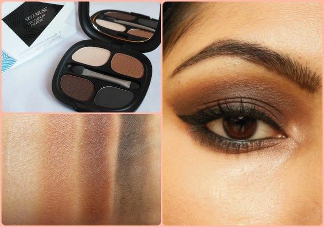 Kiko Milano Neo Muse Eye shadow Palette - Look
