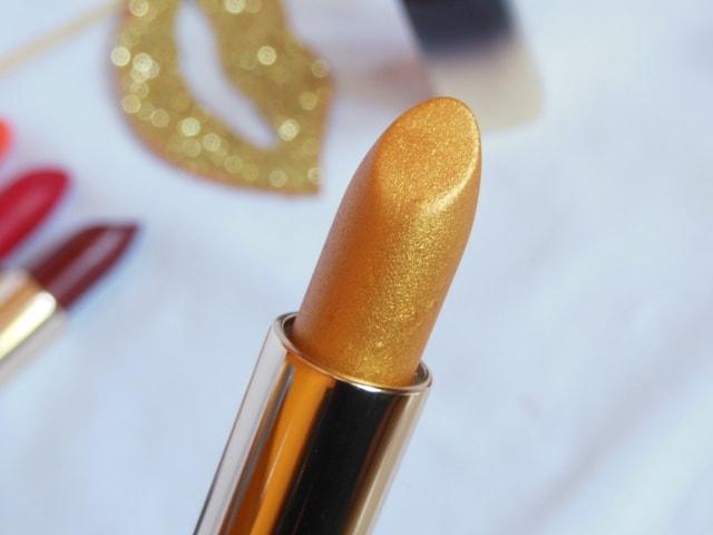 L'Oreal Paris BoldInGold Collection Lipstick - Le Gold Review