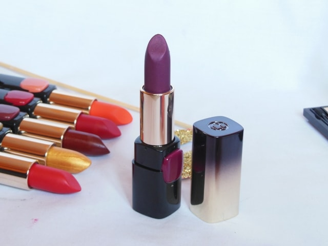 L'Oreal Paris BoldInGold Lipstick - Plum Gold