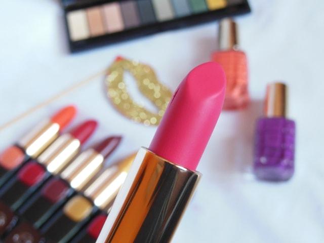 L'Oreal Paris BoldInGold Lipsticks Review - Rose Gold