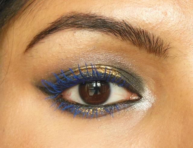 Lakme Eyeconic Curling Mascara Royal Blue EOTD