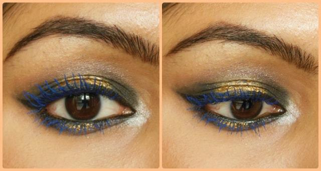 Lakme Eyeconic Curling Mascara Royal Blue Eyes