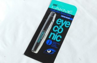 Lakme Eyeconic Curling Mascara Royal Blue Packaging