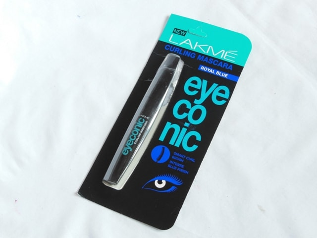 Lakme Eyeconic Curling Mascara Royal Blue Packaging
