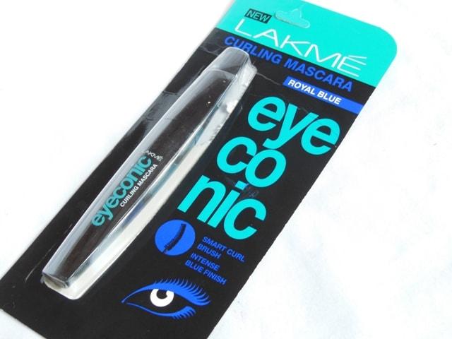 Lakme Eyeconic Mascara Royal Blue Packaging