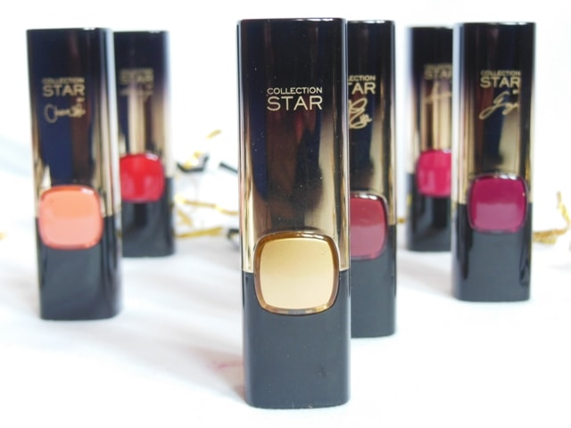 New Makeup Launch from L'Oreal Paris in India 2017- L'Oreal Color Riche Gold Lipsticks