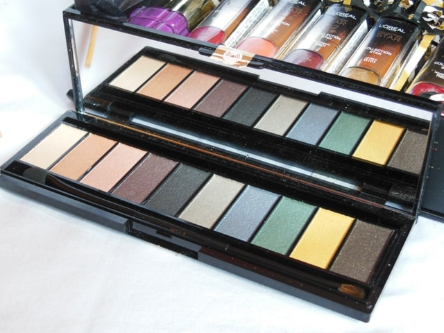 New Makeup Launch from L'Oreal Paris in India 2017 - L'Oreal La Palette Gold Eye Shadow Palette