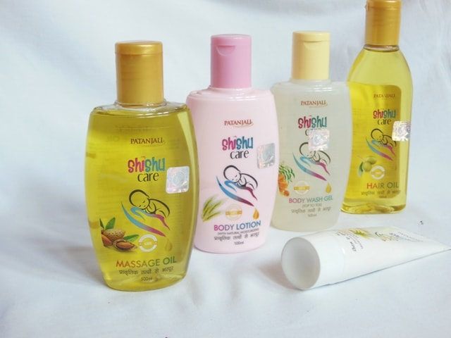 Patanjali Shishu care Oils and Creams