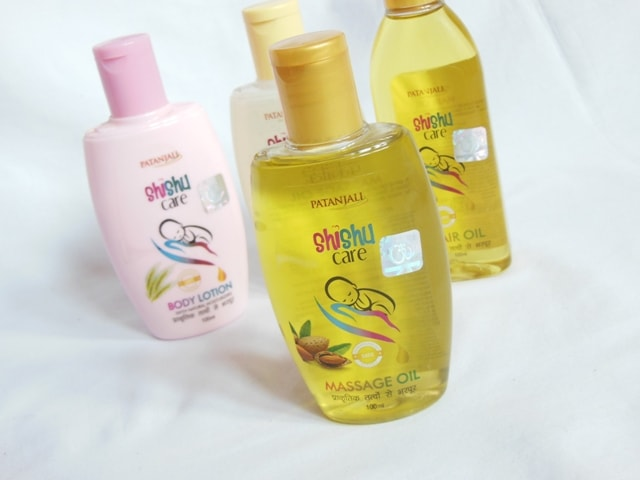 Patanjali Shishu care Skincare Range Massage Oil