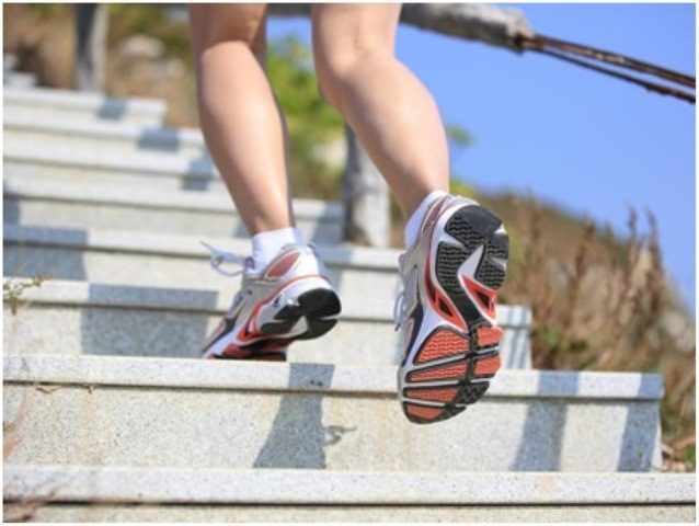 Top 10 Cardio Workouts for Weightloss at Home - Climbing stairs