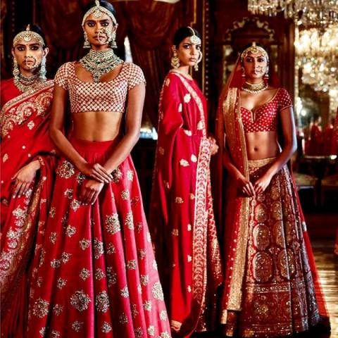 Where to Buy Bridal Lehenga in Delhi - Wedding Shows sabyasachi-heritage-bridal-fall-winter-wedding-collection