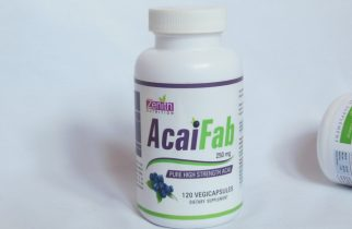 Zenith Nutrition Acai Fab Supplement Capsules