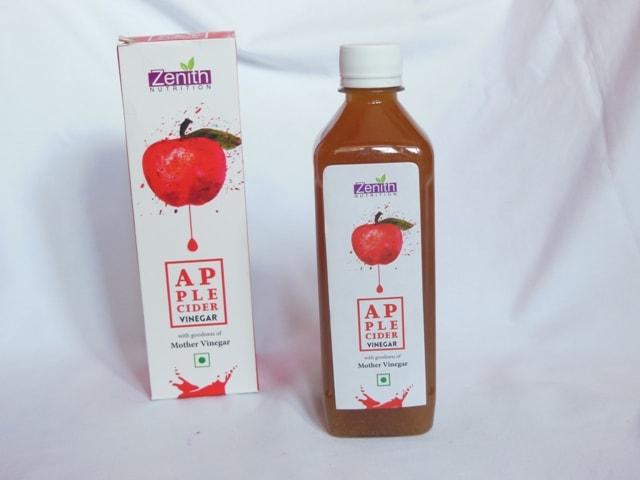 Zenith Nutrition Apple Cidar Vinegar Bottle
