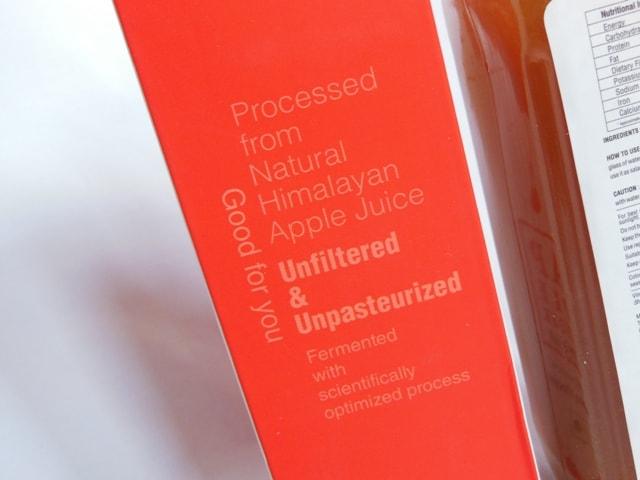 Zenith Nutrition Apple Cidar Vinegar Claims