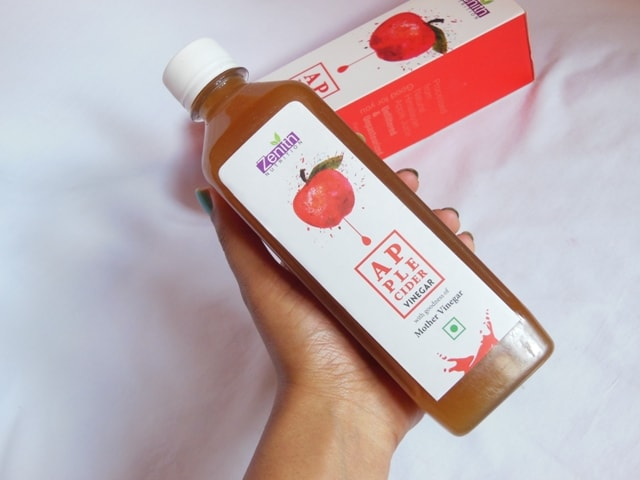 Zenith Nutrition Apple Cidar Vinegar Packaging