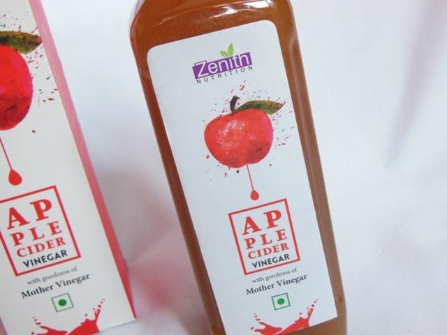 Zenith Nutrition Apple Cidar Vinegar Review