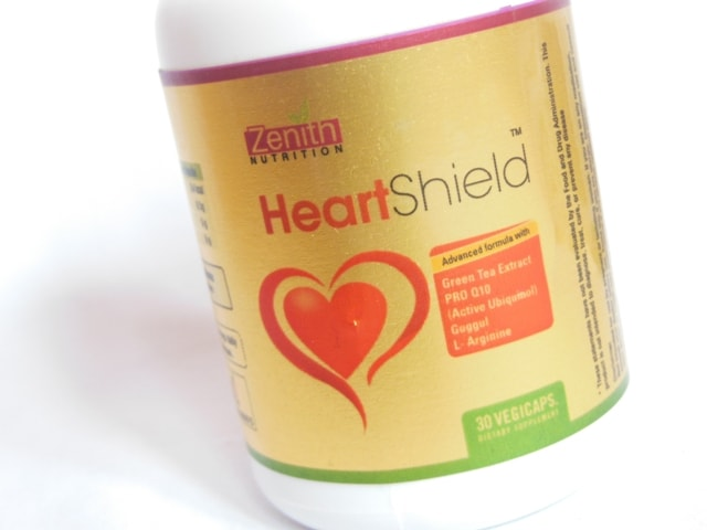 Zenith Nutrition Heart Shield Supplement Capsules Review