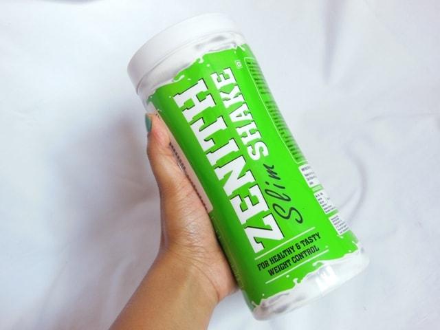 Zenith Nutrition Slim Shake Packaging