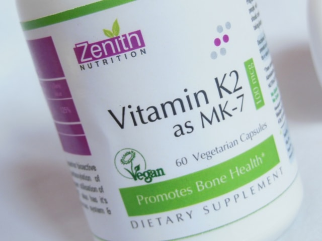 Zenith Nutrition Vitamin K2 as MK-7 Supplement Capsules review