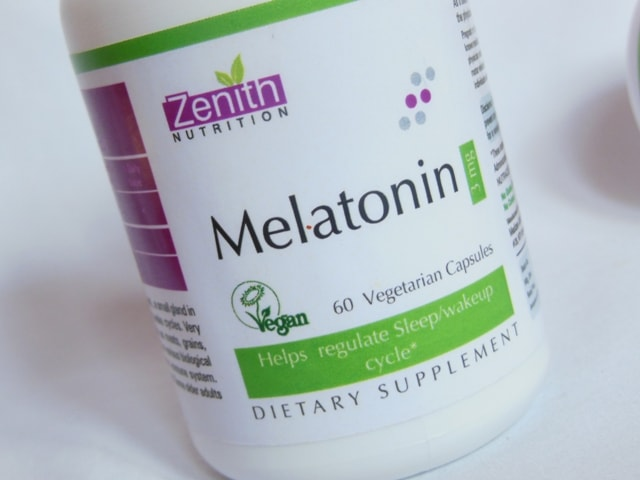 Zenith Nutrition melatonin Supplement Capsules Review
