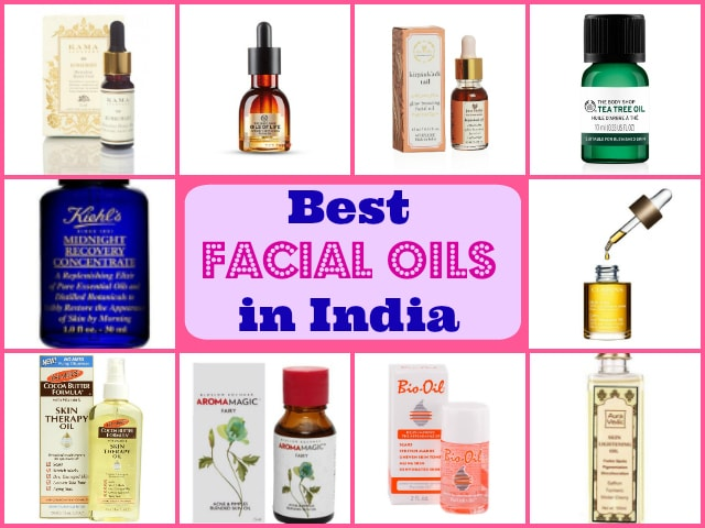 Best Facial Oils for Oily skin In India