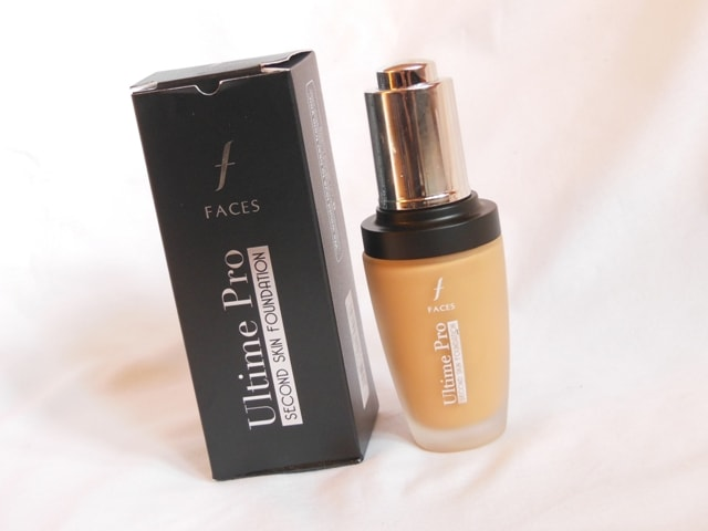 Faces Ultime Pro Second Skin Foundation Beige Review