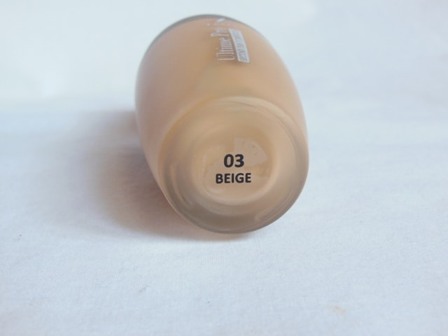 Faces Ultime Pro Second Skin Foundation - Beige