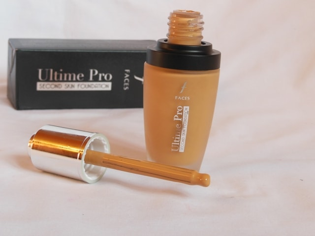 Faces Ultime Pro Second Skin Foundation Sand Bottle
