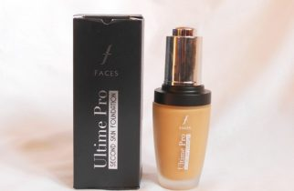 Faces Ultime Pro Second Skin Foundation Sand Packaging