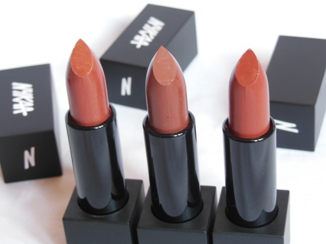 NYKAA So Matte Nude Lipsticks Review