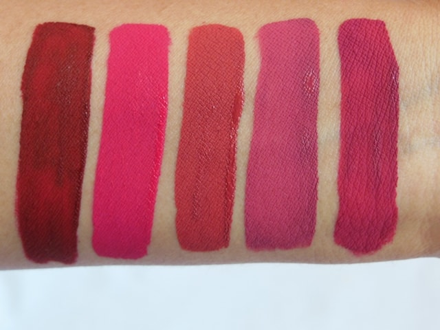 Sugar Smudge Me Not Liquid Lipsticks Swatches - Dry 2