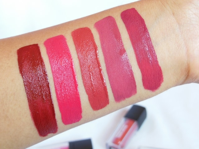 Sugar Smudge Me Not Liquid Lipsticks Swatches - Fresh 2