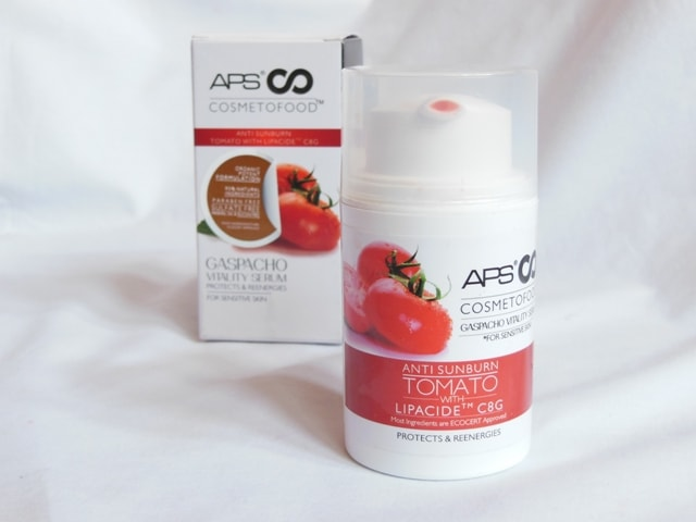 APS Cosmetofood Gaspacho Vitality Serum Packaging