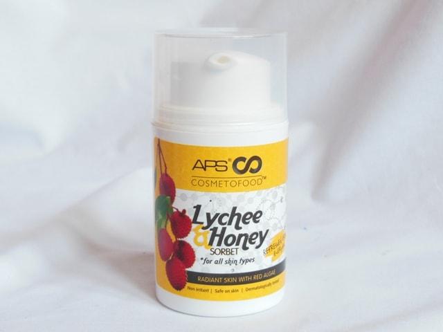 APS Cosmetofood Lychee Honey Sorbet