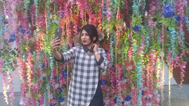 Amazon India Fashion Week 2017 - Selfie