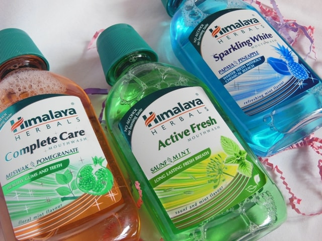 Himalaya Herbals Mouthwash Review