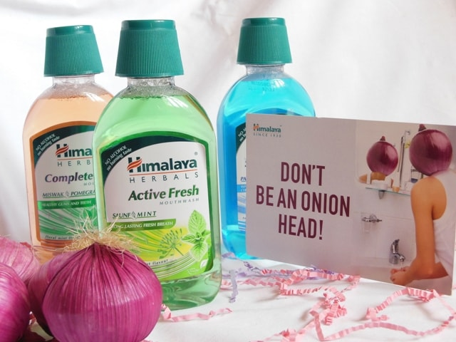 Himalaya Mouthwash - Don't Be an Onion Head