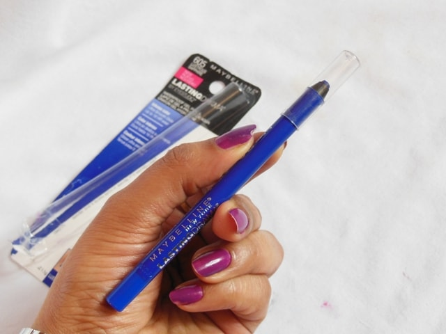 Maybelline Lasting Drama Waterproof Gel Pencil Review