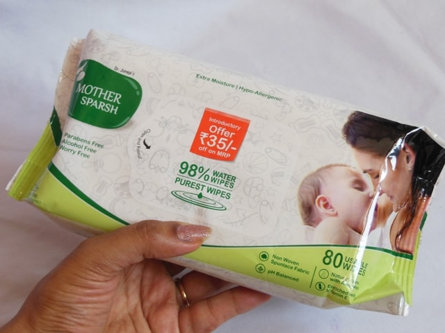 Mothersparsh Baby Wipes Review